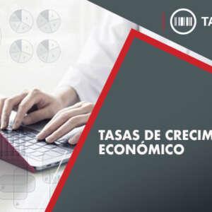 Tasas de crecimiento económico